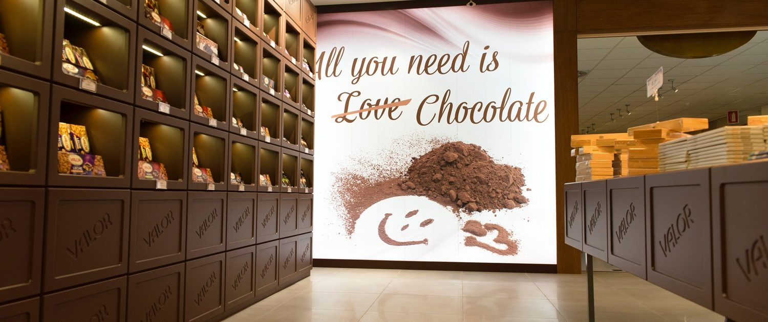 Valor Chocolate Museum and factory in Villajoyosa, a great plan during your holidays in Valencia.